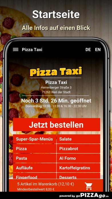 Pizza Taxi Weil der Stadt screenshot 2