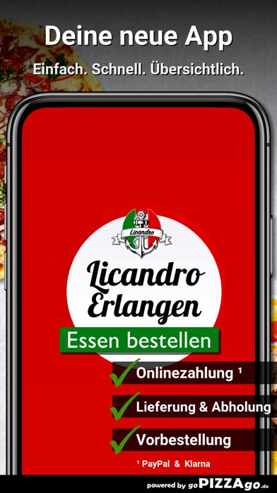 Licandro Erlangen screenshot 1