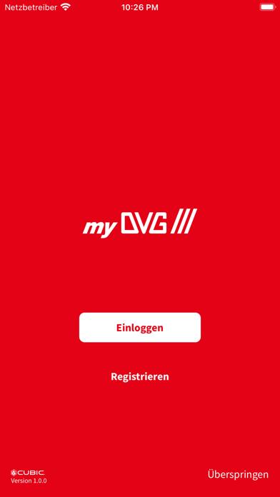 myDVG Ticket screenshot 1