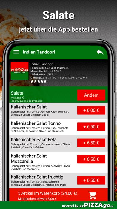 Indian Tandoori Ingelheim screenshot 5