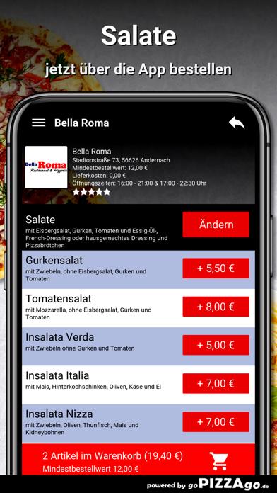 Bella Roma Andernach screenshot 5