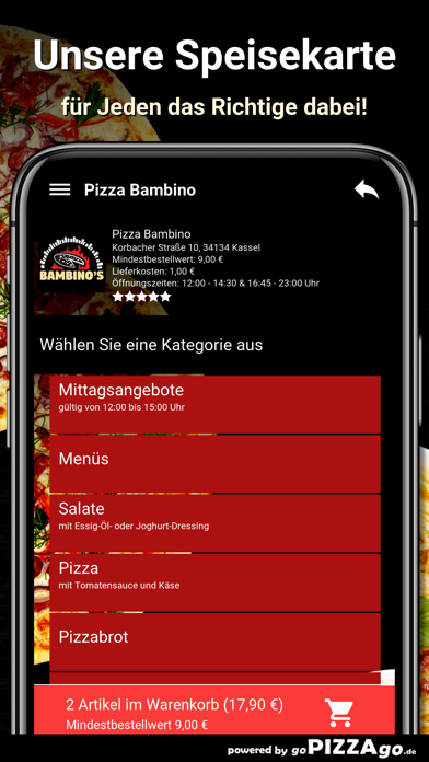 Pizza Bambino Kassel screenshot 4