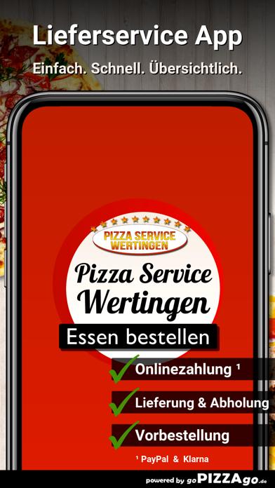 Pizza Service Wertingen screenshot 1