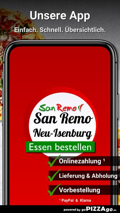 Pizzeria San Remo Neu-Isenburg screenshot 1