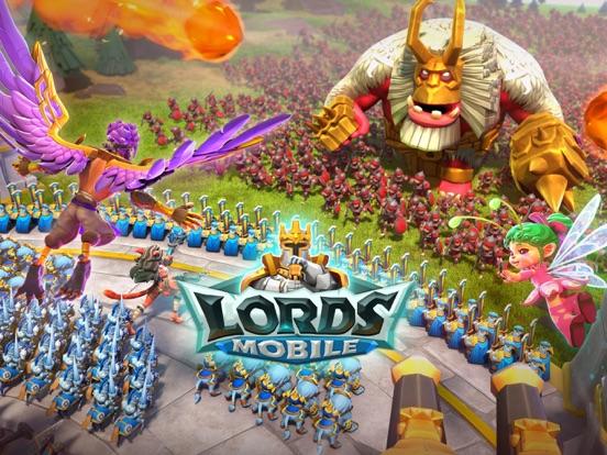 Lords Mobile: Tower Defense iPad app afbeelding 1