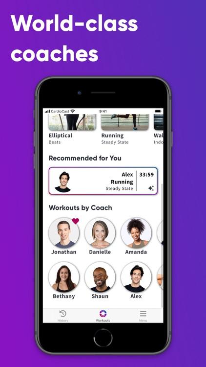 CardioCast: Audio Workout App screenshot-4