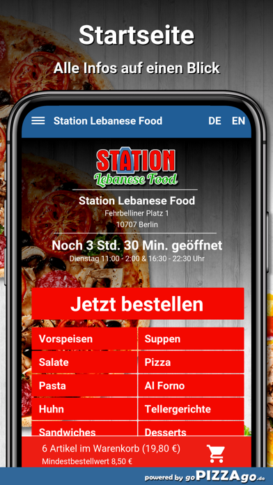 Station Lebanese Food Berlin screenshot 2