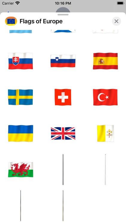Flags of Europe screenshot-3