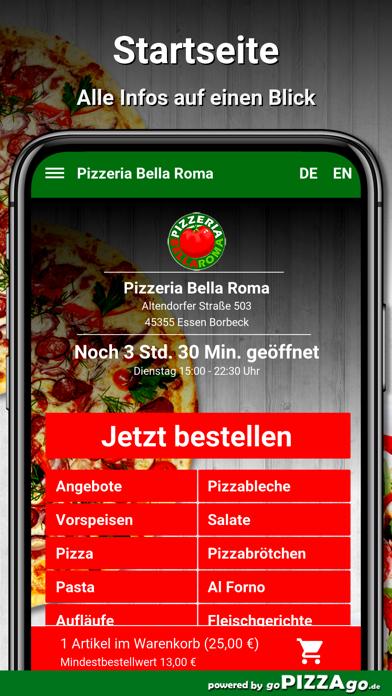 Bella Roma Essen Borbeck screenshot 2