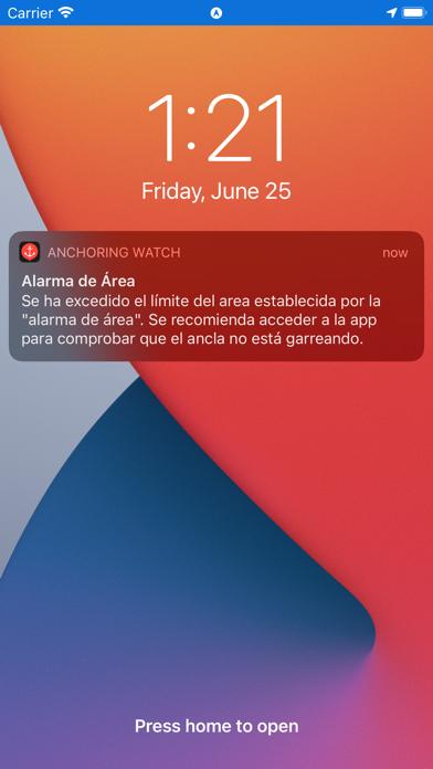 Anchoring WatchCaptura de pantalla de5