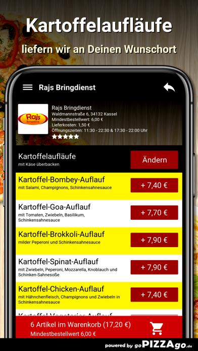 Rajs Bringdienst Kassel screenshot 6