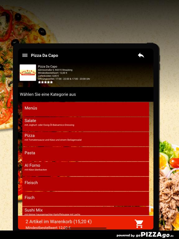Pizza Da Capo Straubing screenshot 8