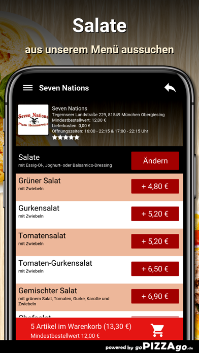 7 Nations München Obergiesing screenshot 1