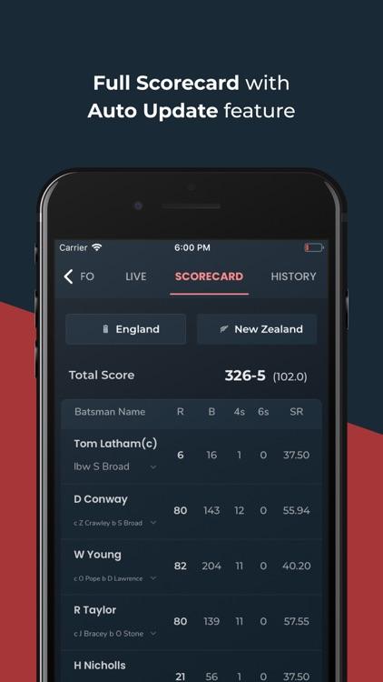 Cricket Exchange - Live Score screenshot-3
