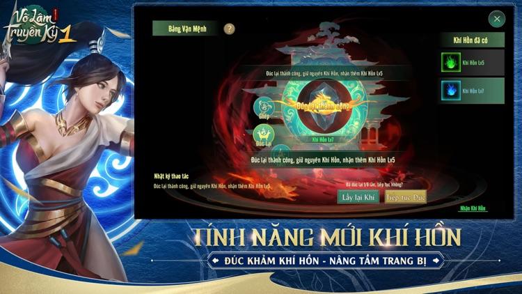 Võ Lâm Truyền Kỳ 1 Mobile screenshot-4
