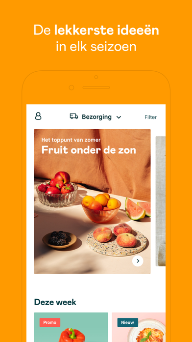 Crisp supermarkt iPhone app afbeelding 5