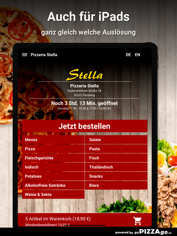 Pizzeria Stella Parsberg screenshot 7