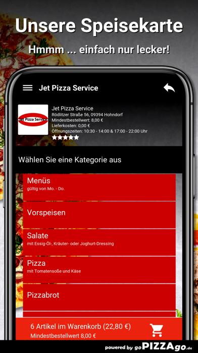Jet Pizza Service Hohndorf screenshot 4