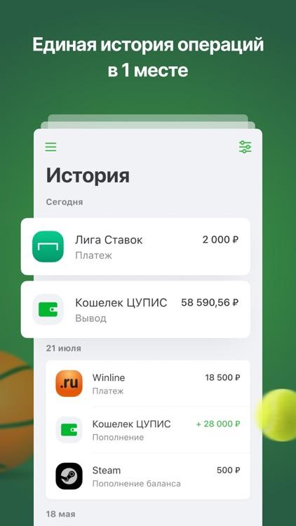 Кошелек ЦУПИС screenshot-3