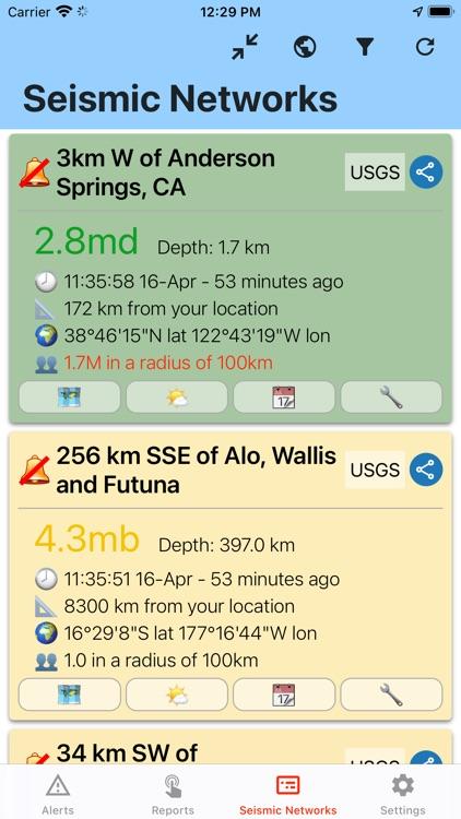 Earthquake Network screenshot-4