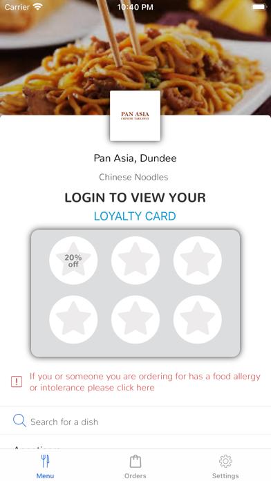 Pan Asia, Dundee screenshot 1