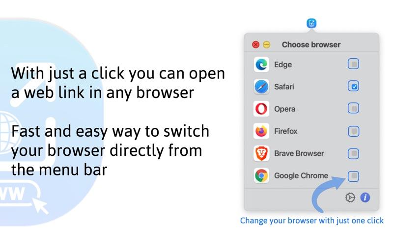 Open In Pro - Browser Picker