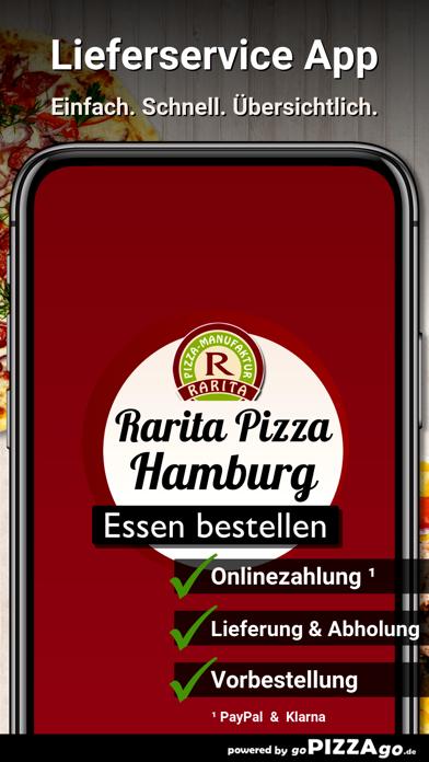 Rarita Pizza Hamburg screenshot 1