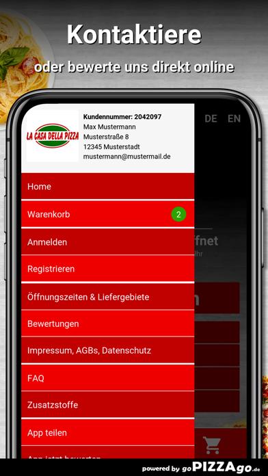 La Casa Della Pizza Büren screenshot 1