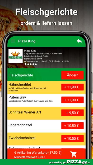 Pizza King Wiesbaden screenshot 6