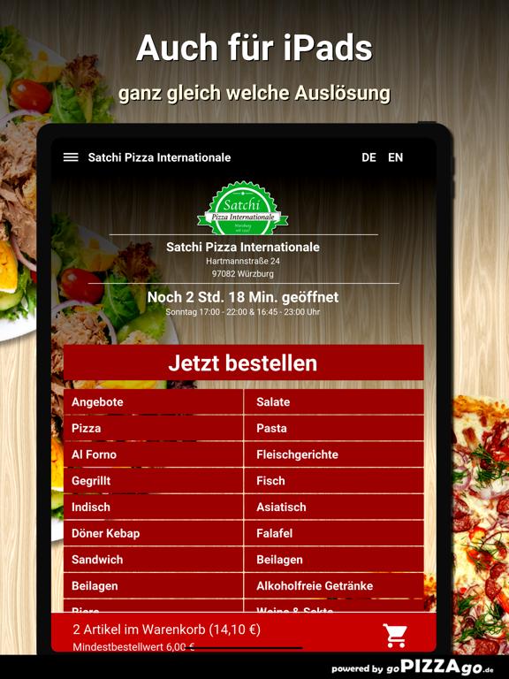 Satchi Pizza Würzburg screenshot 7