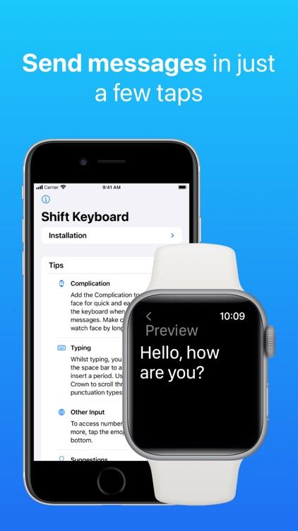 Shift Keyboard for Apple Watch screenshot-8
