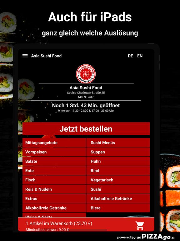 Asia Sushi Food Berlin screenshot 7