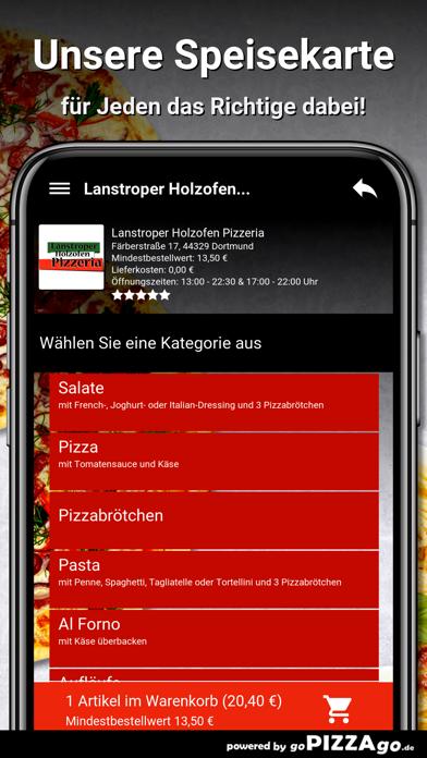 Lanstroper Pizza Dortmund screenshot 4