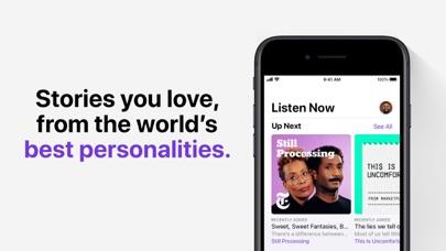 Apple Podcasts screenshot one