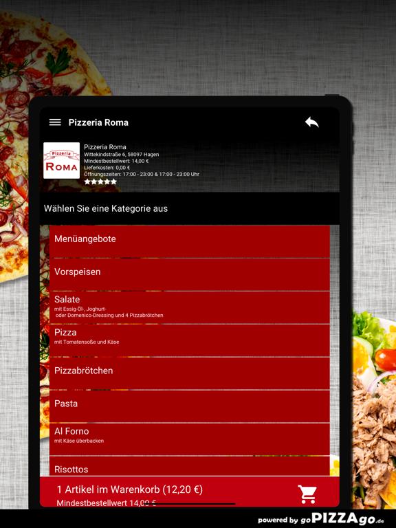 Pizzeria Roma Hagen screenshot 8