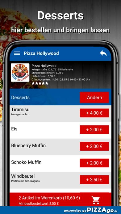 Pizza Hollywood Karlsruhe screenshot 6