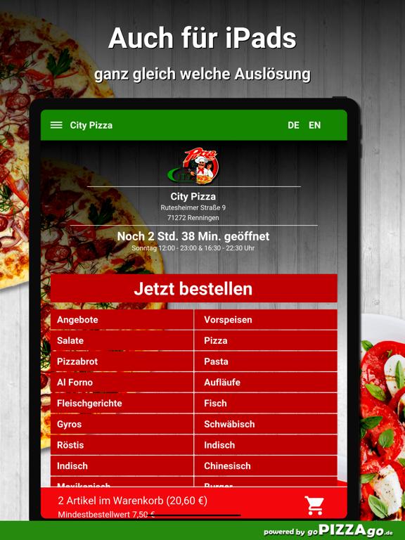 City Pizza Renningen screenshot 7