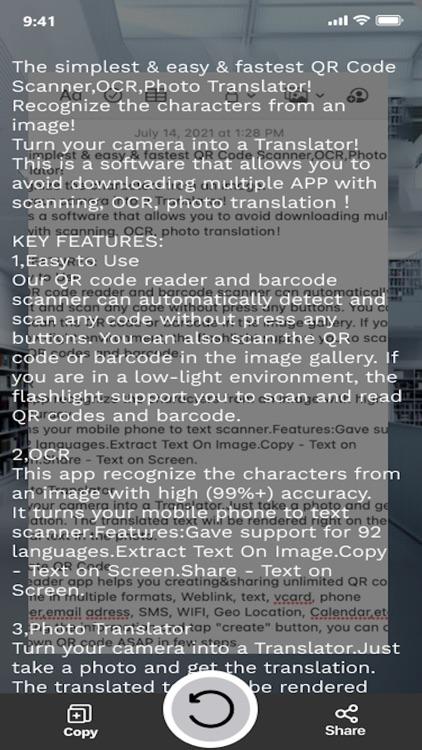 QR Code Scanner &Scan QR Code screenshot-3