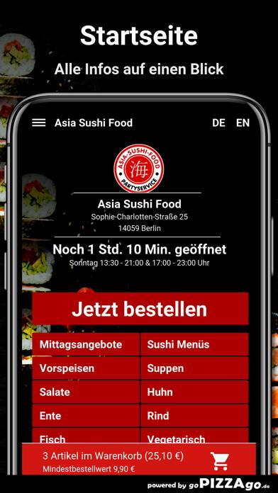 Asia Sushi Food Berlin screenshot 2