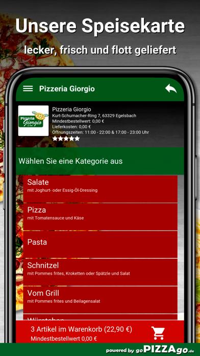 Pizzeria Giorgio Egelsbach screenshot 4