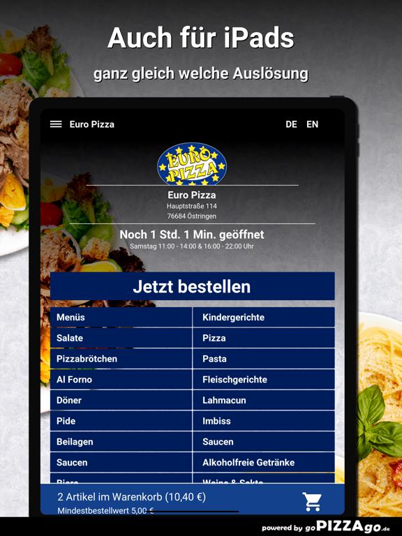 Euro Pizza Östringen screenshot 7