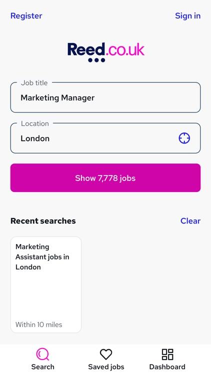 Reed.co.uk Job Search screenshot-3