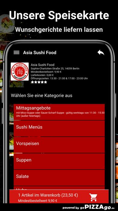 Asia Sushi Food Berlin screenshot 4