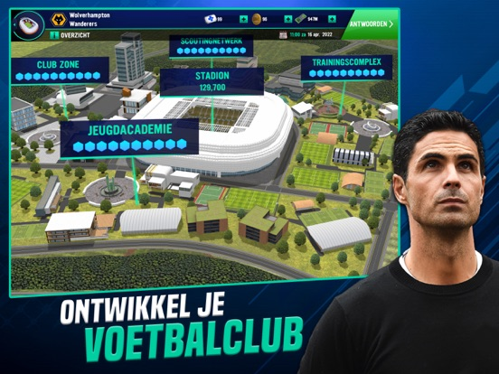 Soccer Manager 2022 iPad app afbeelding 6