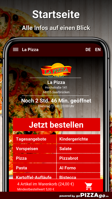 La Pizza Saarbrücken screenshot 2