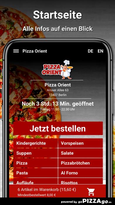Pizza Orient Berlin screenshot 2