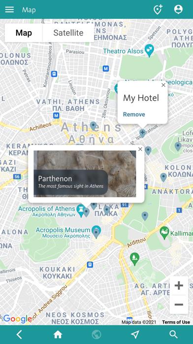 Athens' Best: Travel Guide screenshot 4