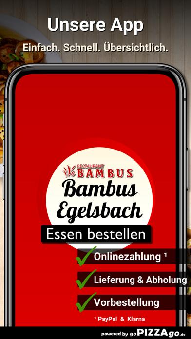 Restaurant Bambus Egelsbach screenshot 1