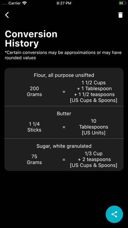 My Kitchen Calculator screenshot-6