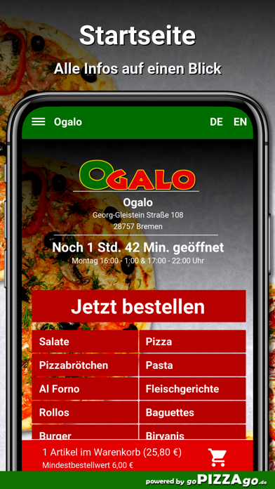 Ogalo Bremen screenshot 2